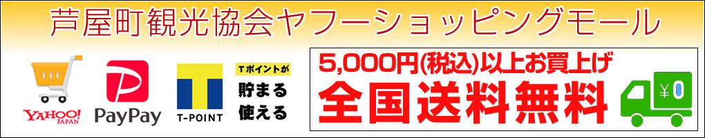 ヤフーショッピングモール5,000円以上送料無料