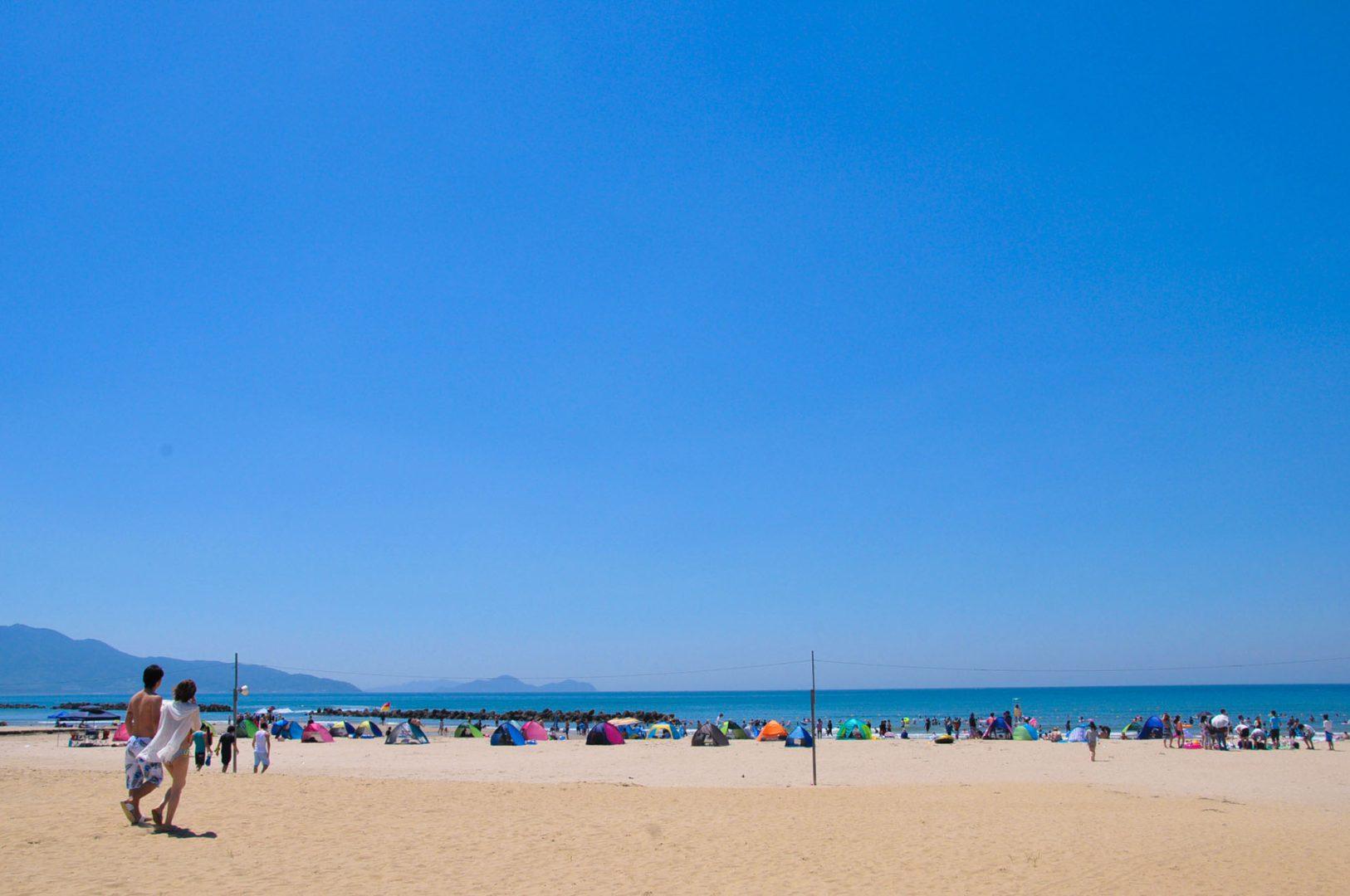 芦屋海岸<海水浴>